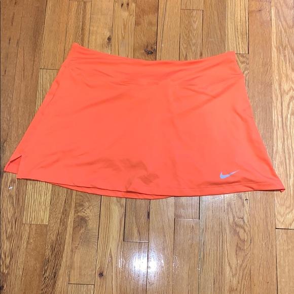 STILL AVAILABLE - Nike Tennis Skirt (Orange)